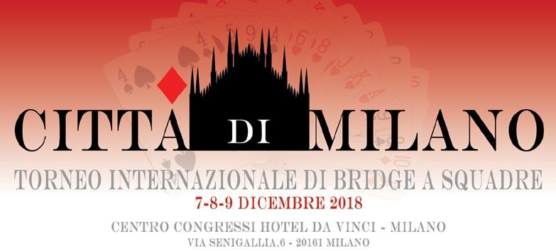 Calendario Torneo A 7 Squadre.Federazione Italiana Gioco Bridge